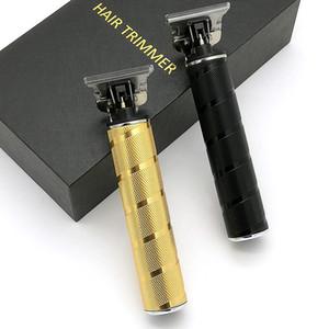 آلة قص برو لي T-تلينر محل حلاقة كهربائية المهنية اللاسلكي الشعر المتقلب الرجال 0mm Baldheaded الشعر المقص KM-T9 الشعر