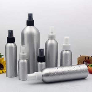 30ml 50ml 100ml Imballaggio cosmetico Contenitori per il trucco Set da viaggio Profumo Aria ricaricabile Fresco Metallo Alluminio Nebulizzazione fine Pompa pompa spray