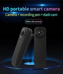 pleno de la cámara HD 1080P visión nocturna Mini DV portátil Mini cámaras de seguridad de la Policía grabador de vídeo digital mini clip del cuerpo de la cámara A18 negro