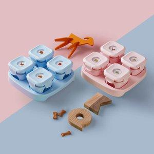 Xiaomi youpin kalar bebê bebê recipiente de vidro caixa de armazenamento de vidro alimentos silicone alimentos suplemento caixa infantil crisper 3009398C3