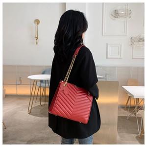 Sac féminin automne et l'hiver 2019 nouvelle mode version coréenne polyvalente de grande capacité des femmes sac à chaîne Lingge femmes sac d'épaule unique