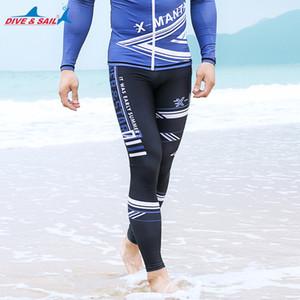 Erkekler Swim Tayt - Swim Pantolon - Erkekler Kadınlar Temel Cilt Wetsuit Su Tozluklar Yüzme Pantolon UV Koruyucu