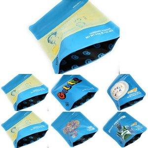 Sacos de embalagem DHL grátis 5styles envio bolo Londres Mylarbag libra sacos de cookies Mylar Bolsas 3,5 Cheiro prova Mylar ibudA