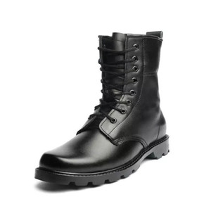 Autumn Men Military Boots Quality Special Force Tactical Desert Combat Ankle Boats Army Work Shoes Leather Snow