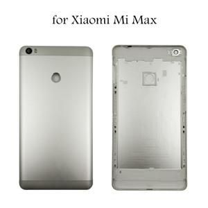 """6,44 """"für xiaomi mi max batterie rückseitige abdeckung rückseitige abdeckung gehäusetür für xiaomi mi max seite schlüssel kamera glaslinse ersatzteile"""