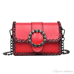 Crazy2019 Retro Chain Small Bag Versatile Shoulder Messenger Bag Female Attractive Personality Bacchus Bag Free Shipping