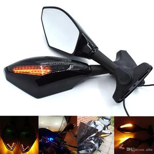 For CBR400RR NC29 NC23 Motorcycle Rearview Mirror with rotating light For HONDA NSR250R MC21 NSR 250R CBR17 MCR CBR125R NSR125 PGM4