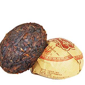 100 g de ventas caliente madura Puer de Yunnan Tuocha Marca Phoenix Negro Puer Pu'er orgánica natural árbol viejo Cocido Puer Té Verde de Alimentos