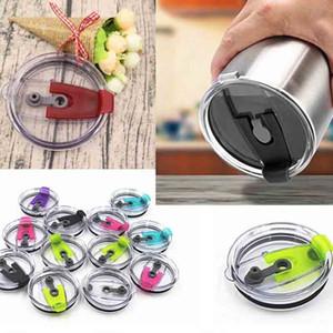 7 couleurs 30 onces en acier inoxydable refroidisseur gobelet Étanche Seal Cover pour 30 oz 20 oz tasse voyage couvercle couvercle pailles couvercles