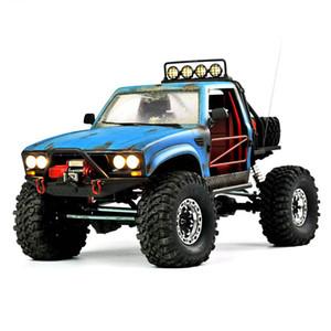 RC Truck 4WD SUV DRIT Fahrrad Buggy Pickup Truck Fernbedienung Fahrzeuge Off-Road 2.4G Rock Crawler Elektronisches Spielzeug-Kind-Geschenk Y200413