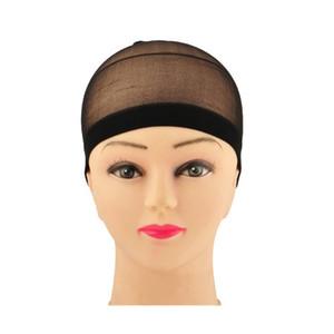 가발 무료 크기를 만들기 위해 짜 머리망 가발 그물 스트레치 메쉬 가발 캡 2 개 / 팩 가발 캡 헤어 네트