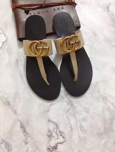 2019 Rihanna Leadcat Camoscio Pantofole Sandali scorrere di lusso di moda estate largo formato Slippery Sandals Flip Flop Slipper 35-41