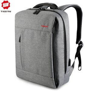 Tigernu Marca USB Charge Uomini zaino Antifurto Splashproof Mochila Notebook Backpack Maschio Zaino donne femaleMX190903 sacchetto di scuola