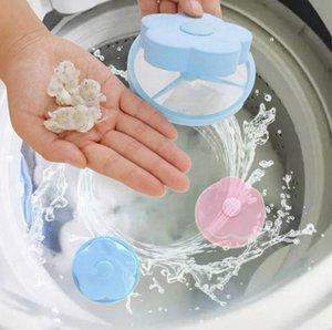 العالمي البلاستيك تصفية حقيبة التطهير غسالة الغسيل التنظيف مزحلة شبكة تصفية سدادات إزالة الشعر الماسك SN2257 الوردي