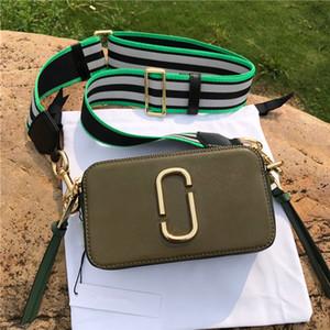 2020 yeni mini kamera Tek Omuz Çantası Moda Tasarımcısı haberci çantası mini taşınabilir geniş omuz kemeri ayarlanabilir çok renkli Çanta Cüzdan