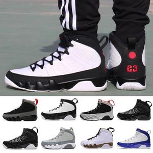 Yüksek kesim Yeni 9 Erkekler basketbol ayakkabıları Space Jam Antrasit Barons 2010 sürümü s tdown Athletics j9 spor ayakkabıları 41-47 boyutu Ruh doernbecher