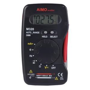 AIMOmeter M320 карманный размер авто диапазон ручной цифровой мультиметр DMM частота M320