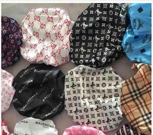 La nueva llegada caliente Durag mujeres musulmanes estiramiento del sueño turbante sombrero de la bufanda sedosa capo Chemo Gorros Caps cáncer Headwear abrigo de la cabeza del ro