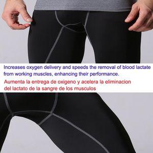 Vêtements pour hommes Bodyboulding Collants Fitness Hommes Pantalons Compression Yoga Pantalons Collants running Homme Sport Tight Pantalon Pantis Anti Fatiga extérieur Pan