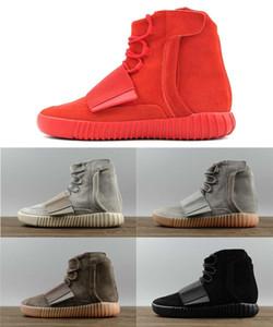 Vente chaude Hommes Bottes D'hiver Kanye West 750 Designer Chaussures 750 Bottes Hommes Chaussures Loisirs Jogging Chaussures De Sport Femmes Bottes Alpinisme