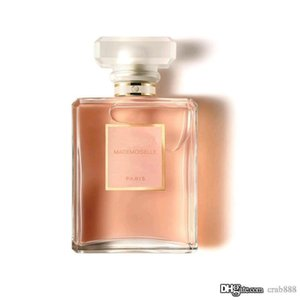 High-End-Parfüm für Frauen Mademoiselle Spray Transparent Flasche 100ml EDP fruchtiges Aroma hohes Qualtiy Kostenloser Versand
