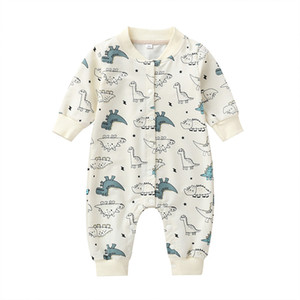 COSPOT Newborn Cartoon Romper Baby Girls Boys Baseball ing Jumpsuit Toddler Rompers Baby Boy Clothes 2020 New 30