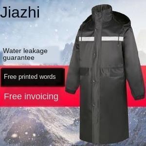 Security raincoat full Clean clothes set of clothes cleaner bright men's outdoor big brim garden warm rider guard