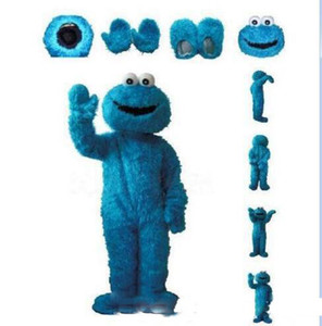 Vente directe d'usine Sesame Street Cookie Monster Costume Party Mascot Costume Livraison gratuite Costume