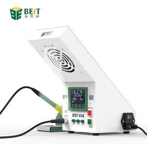 Adjustable temperature anti-static temperature soldering station touch screen digital display LED light adjustable smoking instrument