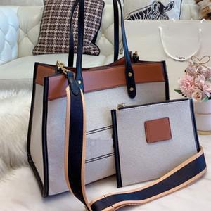Grande Capacidade Pacote Bolsas bolsas Sacola Composite Bag Moda de Alta Capacidade lona ombro largo Strap Mulheres Sacos