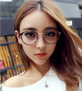 Oval Ful-Rim AC ULTRA LIGHT literary Style Eyeglass Frame Lightweight plain glass spectacles B-066