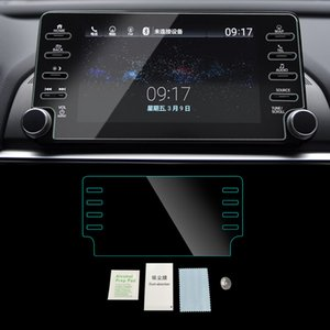 For HONDA ACCORD 2018-2019 Auto Car Navigation Dashboard GPS Monitor Screen Protective Tempered Glass Film Sticker Accessories
