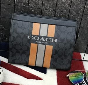 Designer handbag Mens Bags Fashion Bags en cuir Vente Chaude Nouvelle Arrivée Fashion Men Briefcase Noir Bleu Carré Style Sacs à Main