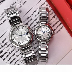 Fashion Classic Casual Women man Watch Lady Dress watch Stainless steel Sports lover Watch Top Quality Gentleman lady quartz drop shipping