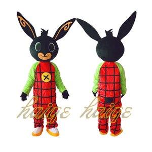 Nouveau costume de lapin BING costume de mascotte Déguisement Noël pour fête à Halloween