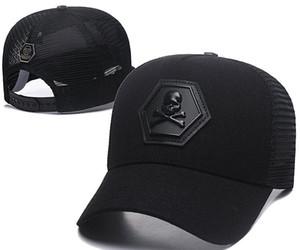 Nouveau style d'été hommes designer Skull chapeaux réglable casquettes de baseball luxe dame de mode chapeau été camionneur casquette femmes Angleterre casquette de loisirs