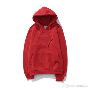 2020 Men's Hoodie Letter Classic Embroidery Seal Pullover Hoodie High Quality Designer Sweatshirt Size S - 2XL