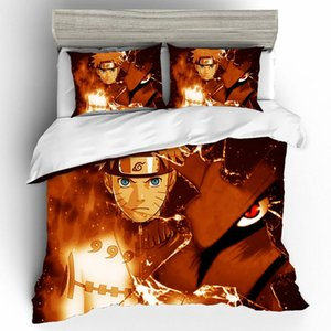 Naruto Anime Bed Sheets and Pillowcases Bed linen For Home Comforter Bedding Sets Duvets and Linen Sets Ropa de Cama Bedding Set