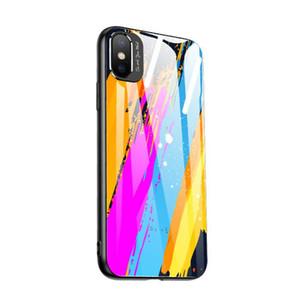 크리 에이 티브 모델 금속은 iphone11 미러 애플 (11) 휴대 전화 케이스 낙하 방지 낙서 유리 쉘 렌즈를 두르고