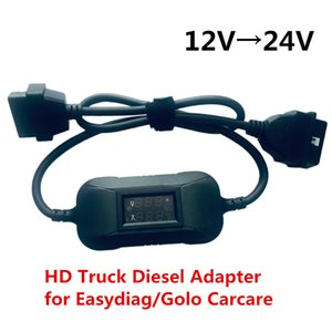 12V to 24V Heavy Duty Truck Diesel Adapter Cable for Launch X431 Easydiag2.0 3.0 Golo Carcare