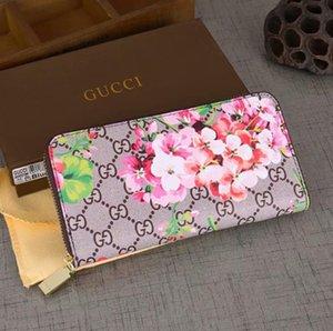 designer wallet Women's Wallet Zipper Bag Female Designer Wallet Purse Fashion Card Holder Pocket Long Women Bag with Box