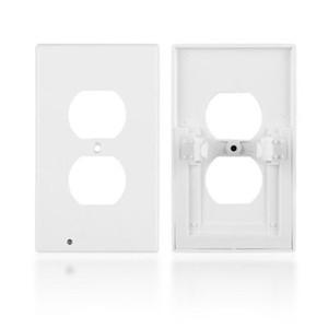 LED-Nachtlichtschalterabdeckung Sicherheitshinweise für die Wandmontage Steckdosenabdeckung Sicherheit ABS-Kunststofflichtsensor Verbrauchsmaterial
