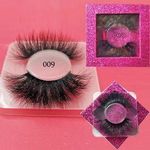 25mm 속눈썹 슈퍼 긴 밍크 사실 25mm 밍크 속눈썹 25mm 밍크 속눈썹 maquiagem maquillaje pestañas postizas의 많은 스타일 속눈썹