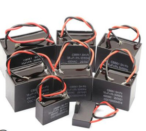 CBB61 Startkapazität AC-Gebläsekondensator 450V CBB-Motor hjxrhgal-Laufkondensator 1UF 1,2UF 1,5UF 2UF 2,5UF 3UF 3,5UF 4UF 10UF