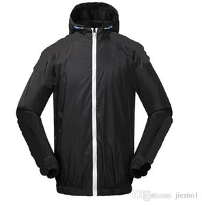 New ADI 3 color 3 stripes Mens jackets clover Fall thin windrunner Pullover Hoodies light Windbreak Free shipping zipper trefoil hoodie