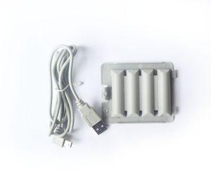 3800mAh литий-ионная аккумуляторная батарея Power Pack Замена перезаряжаемый + USB-кабель для зарядки Nintend Wii Balance Board Fit