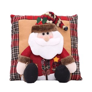 Linen Pillow Christmas Home Decoration Gifts
