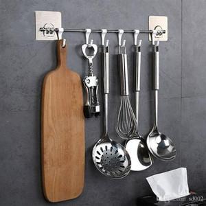 Astrength No Trace Incolla gancio di plastica SIX Group libero Hanger Cucina Bagno in camera Wall Hanging accessori per il bagno caldo di vendita 5 8yyb1