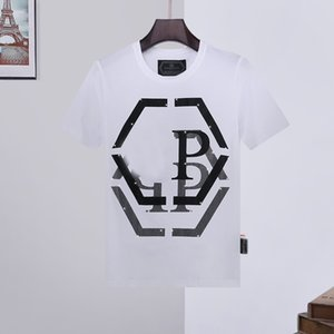 Phillip Plain Mens Designer T Shirts Firmata Uomo Fashion dg GG juventus Luxury T Shirt Summer Homme Skull Tee Tops backpack shoes 13