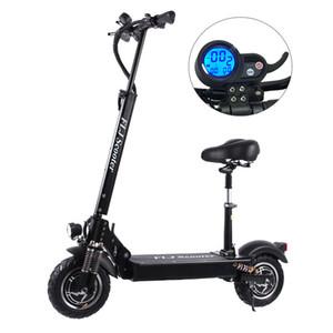 FLJ 2400W Adult elektrischer Roller mit Sitz faltbar hoverboard Fett Reifen elektrische Tretroller e